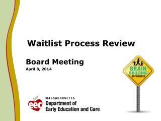 Waitlist Process Review