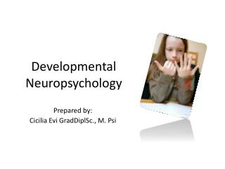 Developmental  Neuropsychology
