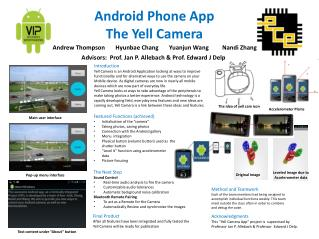 Android Phone App The Yell Camera