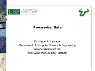 Processing Data