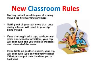 New  Classroom  Rules