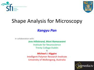 Shape Analysis for Microscopy