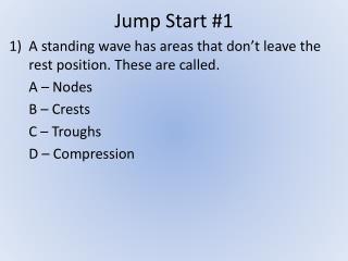 Jump Start #1