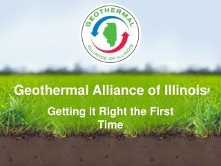 Geothermal Alliance of Illinois