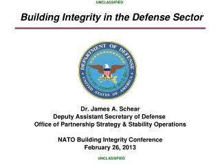Building Integrity in the Defense Sector
