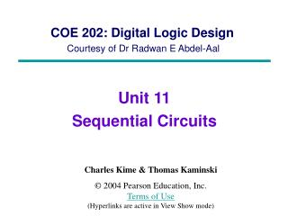 COE 202: Digital Logic Design Courtesy of Dr  Radwan E Abdel-Aal
