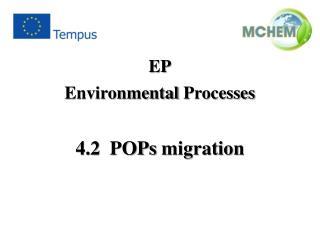 4.2   POPs migration