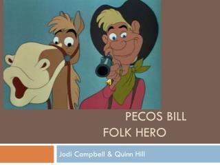 Pecos billFolk hero
