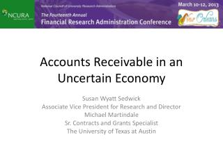 Accounts Receivable in an Uncertain Economy