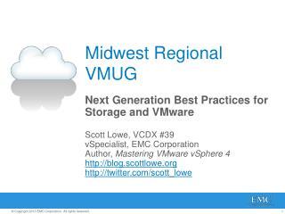 Midwest Regional VMUG