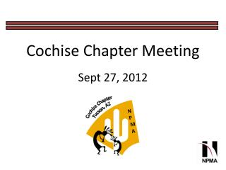 Cochise Chapter Meeting Sept 27, 2012