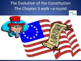The Evolution of the Constitution The Chapter 3 walk –a round