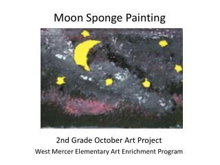 Moon Sponge  Painting