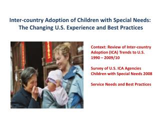 Inter-country  Adoption of Children with Special Needs: