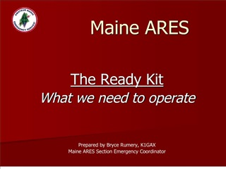 Maine ARES
