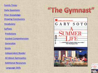 """The Gymnast"""