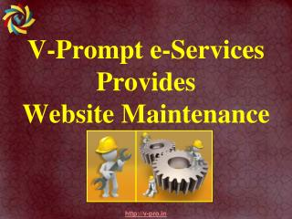 V-Prompt e-Services Provides Website Maintenance