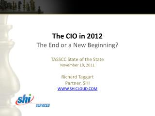 The CIO in 2012
