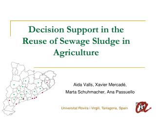 Decision Support in the Reuse of Sewage Sludge in Agriculture