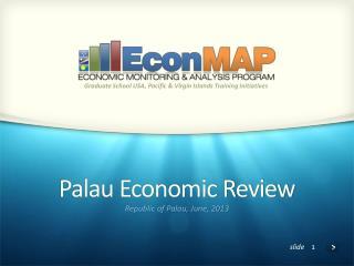 Palau Economic Review