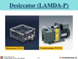 Desiccator (LAMDA-P)