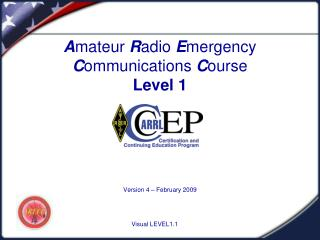 Amateur Radio Emergency Communications Course Level 1