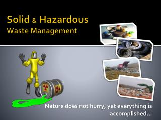 Solid  &  Hazardous  Waste Management
