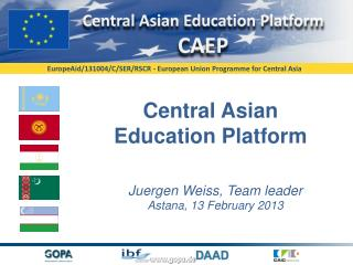 Central  Asian Education Platform