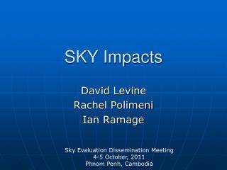 SKY Impacts