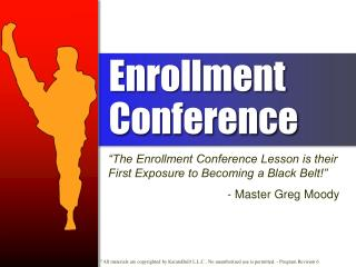 Enrollment Conference