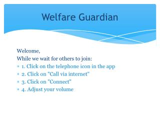 Welfare Guardian