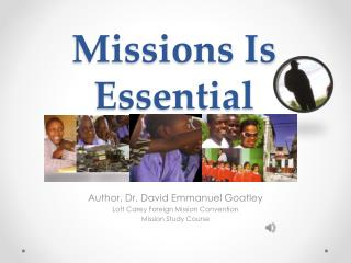 Missions Is Essential