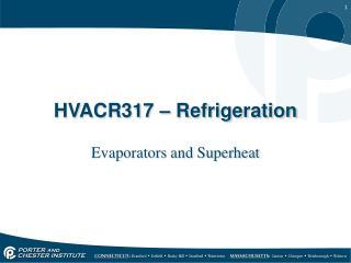 HVACR317 – Refrigeration