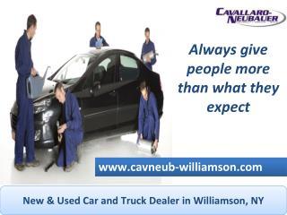 Cavallaro Neubauer Williamson Offers Used Trucks