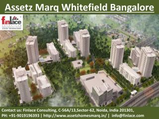 Assetz Marq Bangalore[[9019196393]]New Launch Whitefield