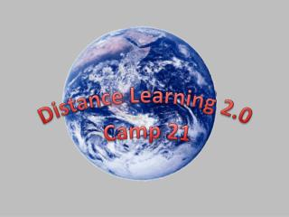 Distance Learning 2.0