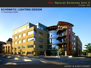 UCI  Natural Sciences Unit 2 Irvine, CA