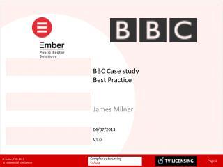 BBC Case study Best Practice