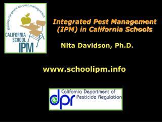 Nita Davidson, Ph.D.