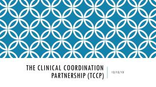 The Clinical Coordination PARTNERSHIP ( tccp )