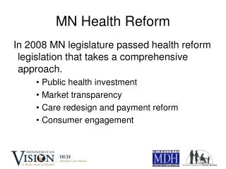 MN Health Reform