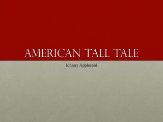 American Tall Tale