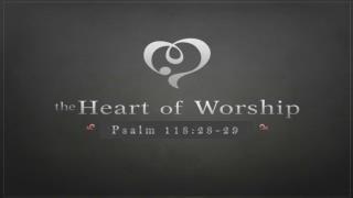 Psalm 118:28-29