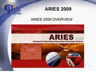 ARIES 2009