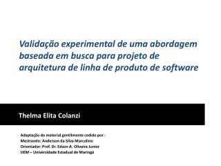 Thelma  Elita Colanzi