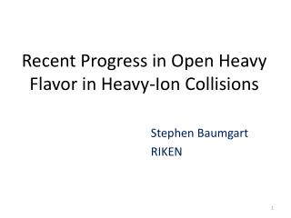 Recent Progress in Open Heavy Flavor in Heavy-Ion Collisions