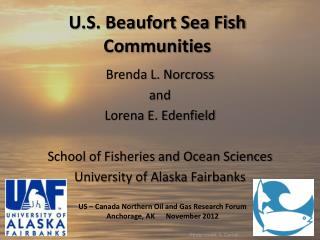 U.S. Beaufort Sea Fish Communities