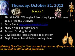 Thursday ,  October 31,  2012