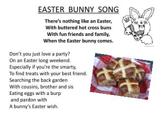 EASTER  BUNNY  SONG
