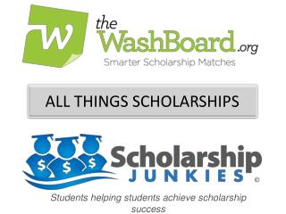 ALL THINGS SCHOLARSHIPS